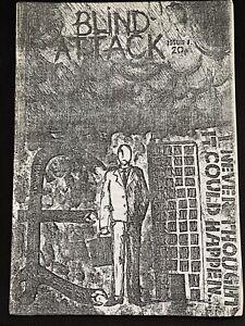 Blind Attack 1980 Punk Fanzine #1 Death In June New Model Army Newtown Neurotics