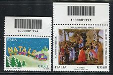 ITALIA 2010 NATALE/CHRISTMAS/ART/BOTTICELLI/MAGI/PAINTING/TOYS CODICE A BARRE