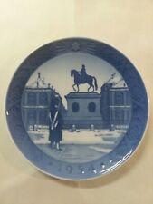 "Vintage Royal Copenhagen 1954 Porcelain Plate titled ""Amalienborg Slot"""