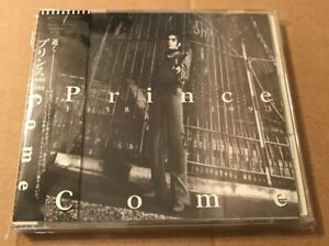 Prince - Come Very Rare Japanese Cd Album OBI Strip + Lyric Sheet + Fold Out