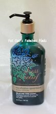 Bath & Body Works Stress Relief Aromatherapy Lotion Holiday Eucalyptus Spearmint