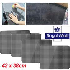 UK 42x 38cm PVC Washable Reusable Static Cling Screen Window Sun Shade Cover x 4
