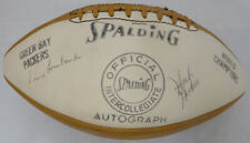 1962 Packers Autographed Football 41 Sigs Vince Lombardi Starr Beckett #A19377
