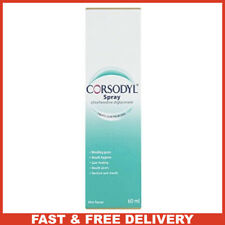 Corsodyl Gum Problem Treatment Spray, 60 Ml New