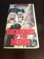 Demons of the Mind 1972 (VHS Thorn EMI Video Clamshell) Hammer Horror Rare! OOP!
