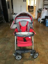 Chicco Cortina KeyFit 30 Standard Single Seat Stroller Red