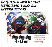 3x tasti switch interruttore scocca chiave cover ALFA ROMEO 156 159 Brera Q4