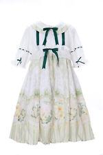 Jsk-12 OISEAU BIRD blanc vert vintage Baby-Doll Cute Pastel Gothique Lolita Cosplay