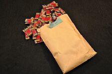 WW2 USMC / USN World War Two Victory Medal ribbons 'Wolf Brown' unissued 100 bag