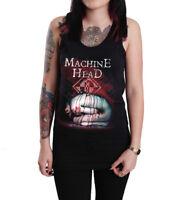 Machine Head Catharsis Black Cotton Tank Top T-shirt