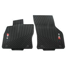 Gummi Fußmatten vorn Original Audi S3 (8V) schwarz Allwettermatten 2er Satz OEM