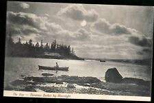 Nanaimo BC postcard by photographer Knight, real photo, early 1900's,  fine +