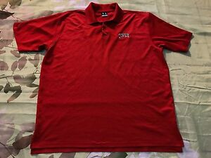 Under Armour UNLV Rebels Golf Polo Shirt Men's Dri-Fit Embroidered Logo LARGE L