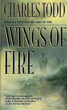 Ian Rutledge Mysteries: Wings of Fire 2 by Charles Todd (1999, Paperback)