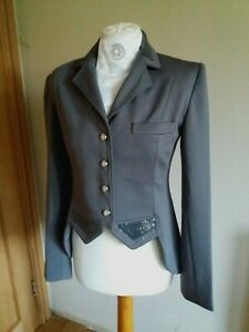 Stunning Harry's Horse Montpellier Grey Short Tail Dressage Jacket