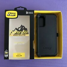Defender Case & Clip Holster for Samsung Galaxy S20 Black Open Box