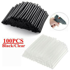 100pcs Mini Hot Melt Glue Sticks General Purpose Transparent Adhesive Stick 7mm