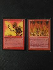 MTG x2 ♦ Incinerate ♦ Ice Age Mirage ♦ EXC ♦ English ♦ Magic the Gatering
