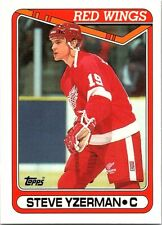1990-91 Topps #222 Steve Yzerman