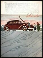 1937 Lincoln by Judkins Vintage Advertisement Print Art Car Ad Poster LG86