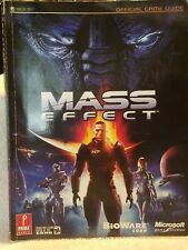 MASS EFFECT XBOX 360 OFFICIAL GAME GUIDE 2007