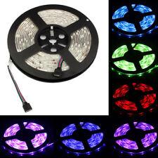 5M RGB 5050 SMD Waterproof 300 LED-Lichtstreifen Flexibel + IR-Fernbedienung 12V