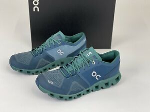 ON RUNNING Cloud X 40.99703 Storm/Tide Brand New Complete