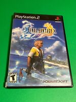 🔥 SONY PS2 PlayStation Two 💯 COMPLETE GAME 🔥 SQUARE ENIX 🔥 FINAL FANTASY X