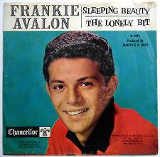 FRANKIE AVOLON 45 Sleeping Beauty / The Lonely Bit  TEEN Pop 1961 w2539
