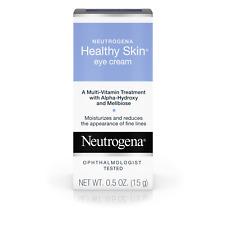 Neutrogena Healthy Skin Eye Firming Cream, Alpha-Hydroxy Acid, 0.5 oz Nib