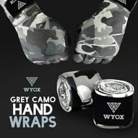Wyox Hand Wraps Mexican Bandages Boxing Fist Inner Gloves Muay Thai MMA Camo
