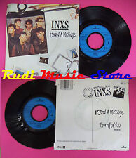 LP 45 7'' INXS I send a message Burn for you 1984 france MERCURY no cd mc dvd
