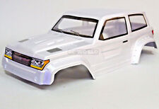 Axial SCX10 II TRUCK BODY SHELL -Painted- Silver