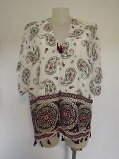 White/Grey/Pink/Red KAFTAN Tassel Hem Top ...... Size 26,28,30,32     #J0718