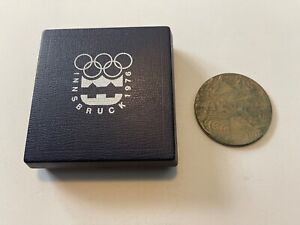 1976 Innsbruck Olympic Participation Medal with Box