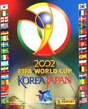 Panini WM 2002 Korea / Japan  4 Sticker aussuchen