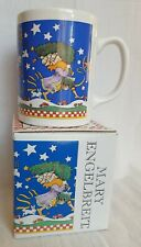 Mary Engelbreit Elves Parade Cup Mug Christmas with Box