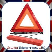 REFLECTIVE CAR WARNING TRIANGLE FOLDABLE BREAKDOWN EU EMERGENCY SIGN FOR VAN UK