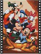 """""""The Disney family """"counted cross stitch kits"""
