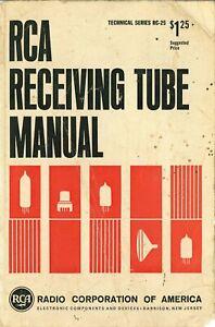 RCA Receiving Tube Technical Series RC-25 - 1966