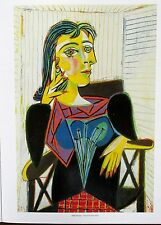 Pablo Picasso Portrait of Dora Maar  Early Cubist Portrait of Woman 14x11