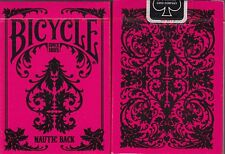 Nautic Pink Bicycle Playing Cards Poker Size Deck USPCC Custom Limited Edition