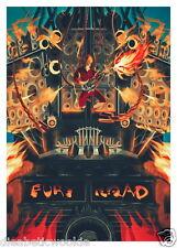 Mad Max Fury Road Furiosa Immortan joe Doof Warrior art print movie poster mondo