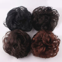 Synthetic Hair Chignon Natural Hair Bun Extension Curly Scrunchie Nice