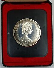 1972 Canada Silver Proof-Like One Dollar Coin *Toned* In Presentation Case