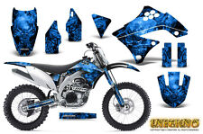 KAWASAKI KXF450 KX450F 09-11 GRAPHICS KIT CREATORX DECALS INFERNO BL