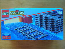 A RARE LEGO SYSTEM 9V ELECTRIC TRAIN TRACKS SET (4515) - BRAND NEW IN SEALED BOX