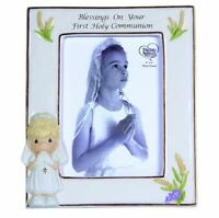 Precious Moments Blessings On Your First Holy Communion Porcelain Photo Frame
