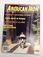 American Iron Magazine Clement's Ancestral Voyage December 1990 031017NONRH