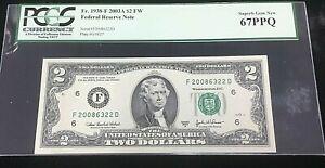 $2 Fr1938-F 2003A FRN BEP 2008 DISTRICT SERIES & BIRTH YEAR NOTE .99c START